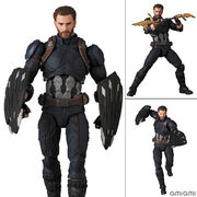 MAFEX マフェックス No.122 CAPTAIN AMERICA INFINITY WAR Ver.