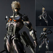 METAL GEAR RISING REVENGEANCE プレイアーツ改 雷電 CUSTOM BODY YELLOW